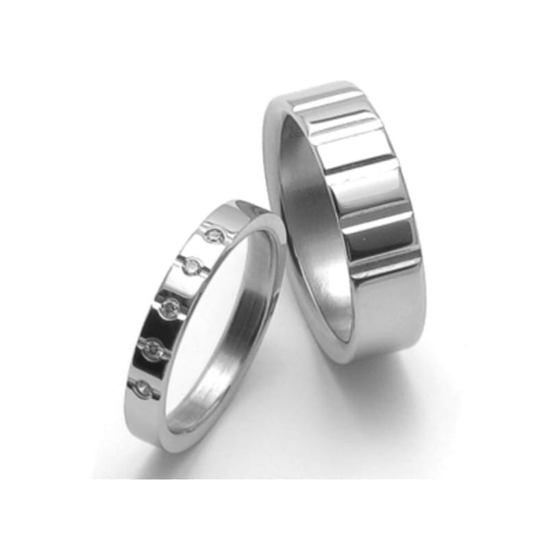 Ocelove Snubni Prsteny Srz6009 Silvertime