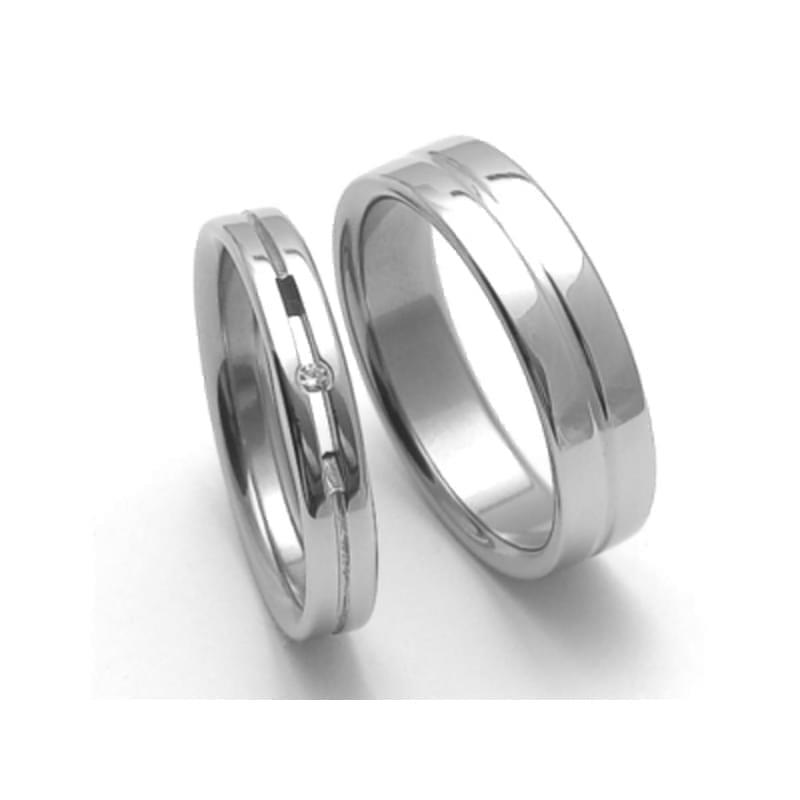 Ocelove Snubni Prsteny Srz4026 Silvertime