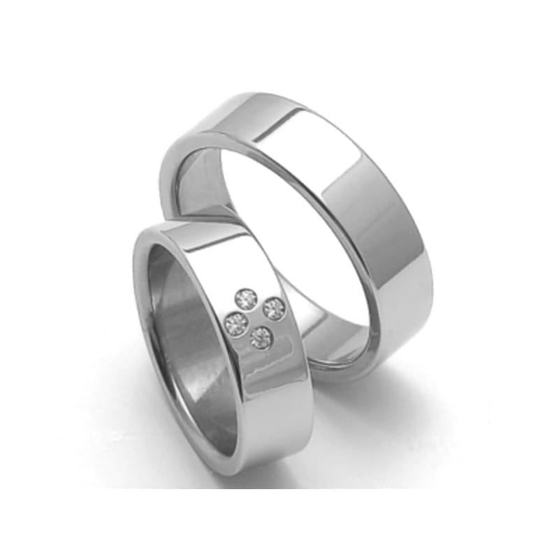 Ocelove Snubni Prsteny Srz6054 Silvertime