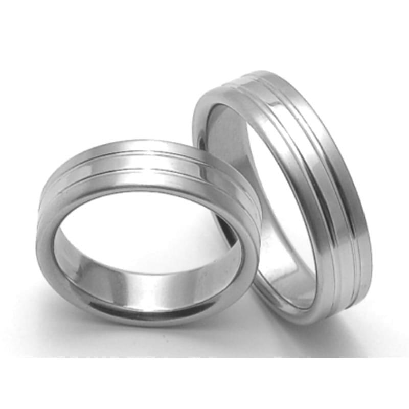 Ocelove Snubni Prsteny Srz6248 Silvertime