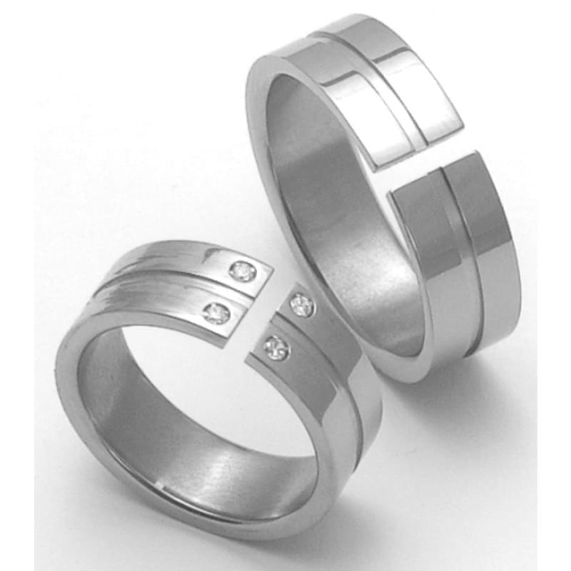 Titanove Snubni Prsteny Stt3500 Silvertime