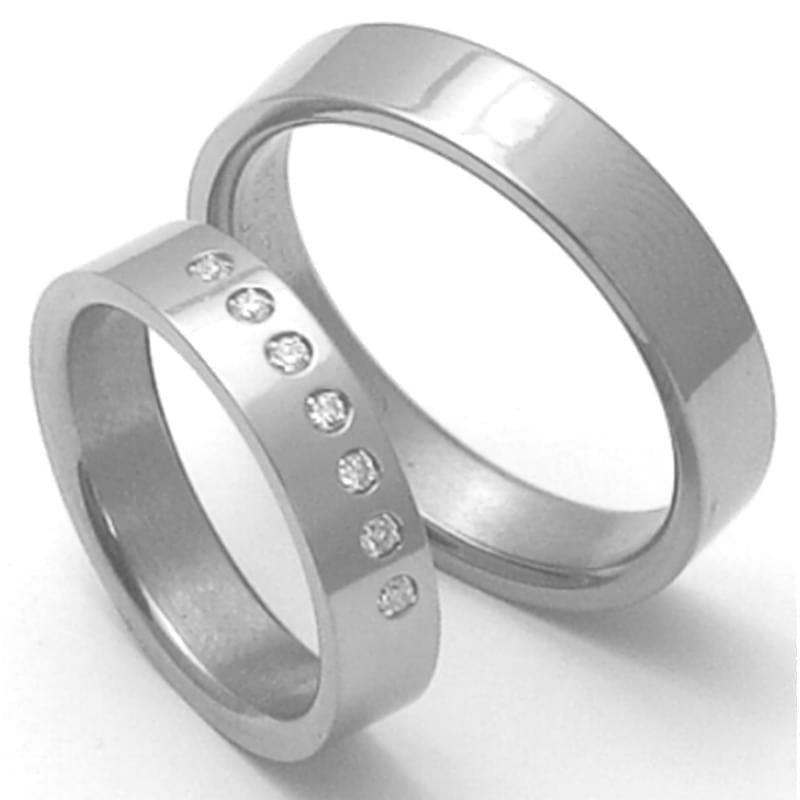 Titanove Snubni Prsteny Stt3000 Silvertime