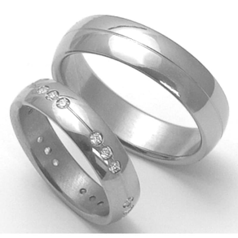 Titanove Snubni Prsteny Stt2600 Silvertime