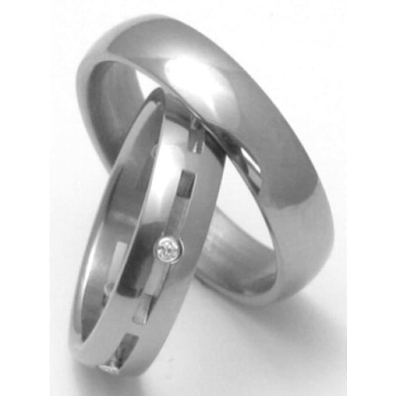 Titanove Snubni Prsteny Stt2300 Silvertime