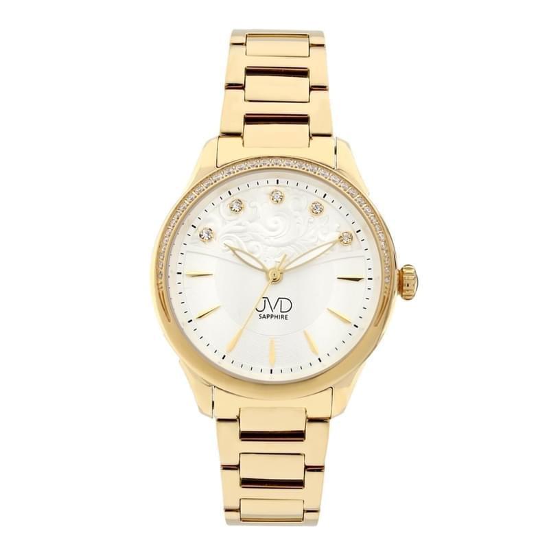 7502aee52 Dámské náramkové hodinky JVD JG1009.3 zlaté - Silvertime