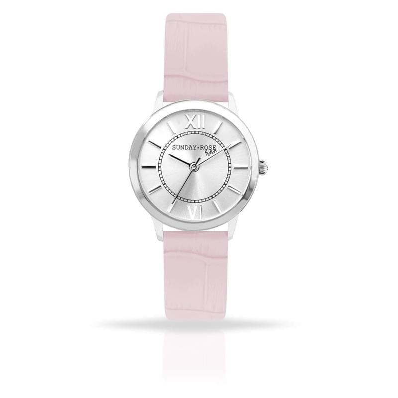 198cd176c Sunday Rose dámské designové hodinky Darling Sweet Pink - Silvertime