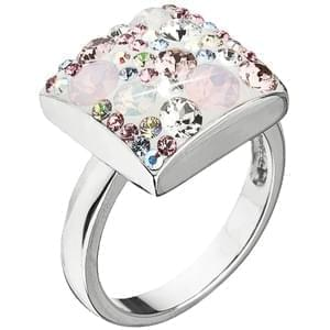 Prsten Swarovski elements 35045.3 magic rose